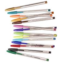 Gelpenna Bic Cristal Colour 15-pack