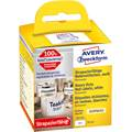 Etiketter Avery Durable A1976414 59 x 102 mm