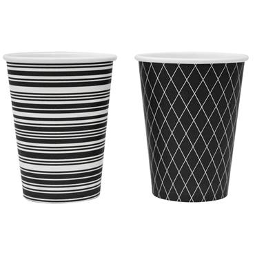 P2831290 Pappersmugg Stripe 27 cl