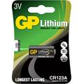 Batteri GP CR123 Lithium foto 3V