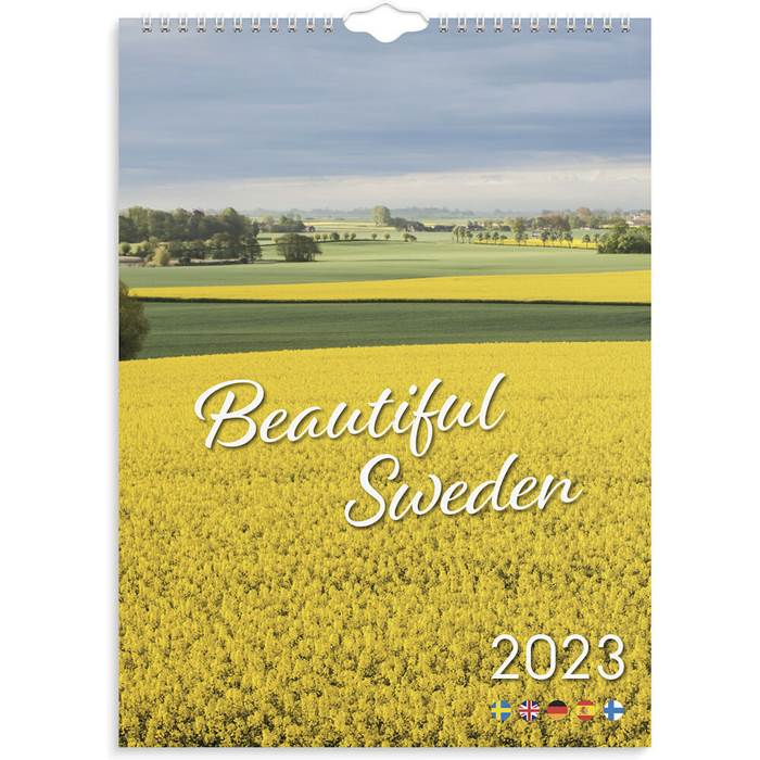 P6081725 Väggkalender Beautiful Sweden