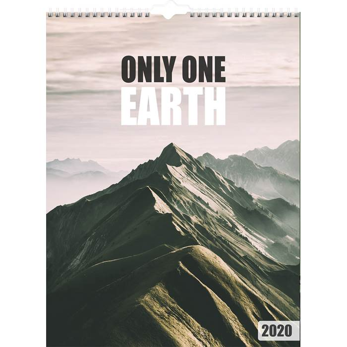 P6081791 Väggkalender Only one Earth