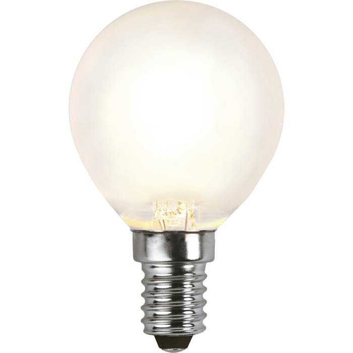 P8550621 LED-lampa E14 P45 39W Frosted Filament