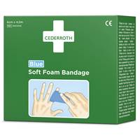 P8551606 Bandage Soft Foam Bandage Blue Cederroth