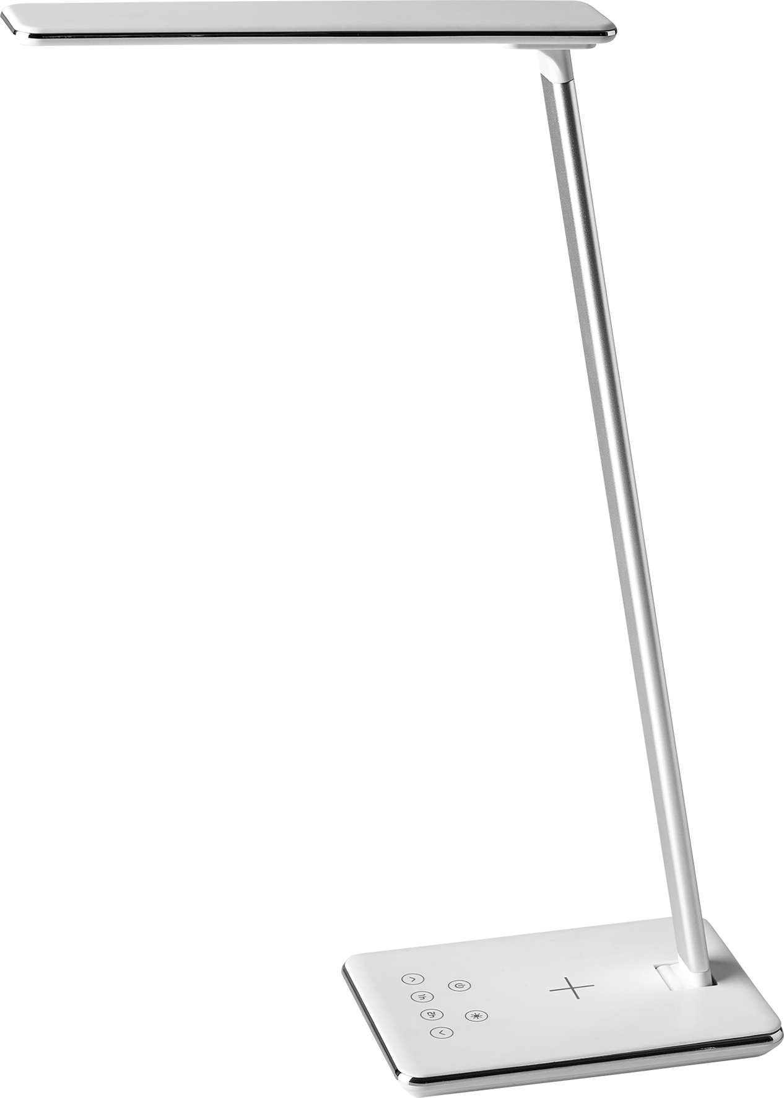 Bordslampa LightUp Singapore LED Qi laddare USB uttag